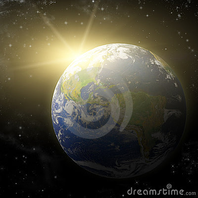 3D  Earth Planet