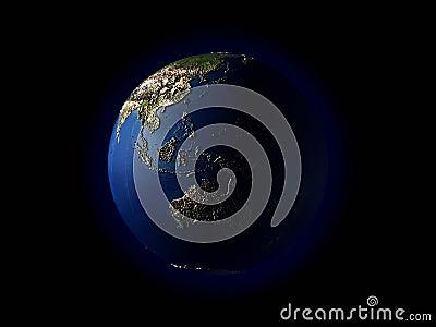 3D earth(terrain)Southeast Asia