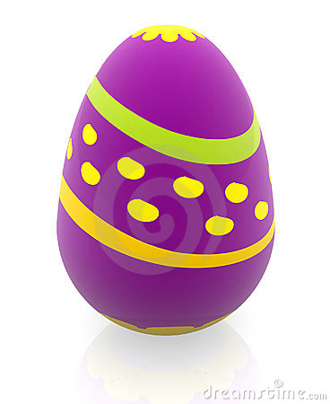 3D Easter Egg Royalty Free Stock Photography Image 13188807