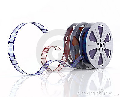 3d Film reels