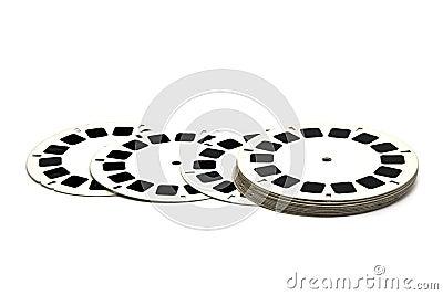 3D film slide reels
