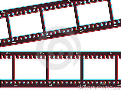 3d Film Strip