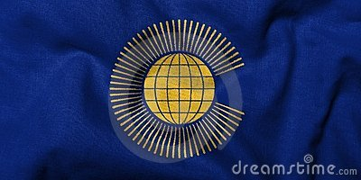 3D Flag of  Commonwealth of Nations
