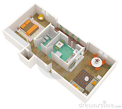 small apartment floor plan | Windows | Download That