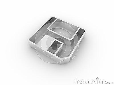 3d floppy icon