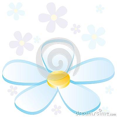 3D Flower Chart