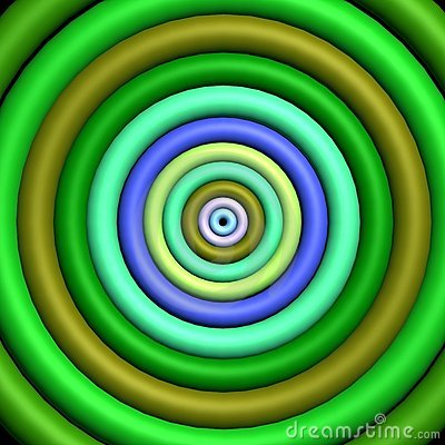 Free 3D - Funky Target Stock Photo - 338290