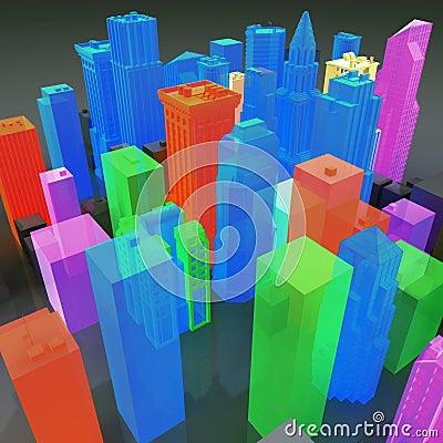 3D Gay City