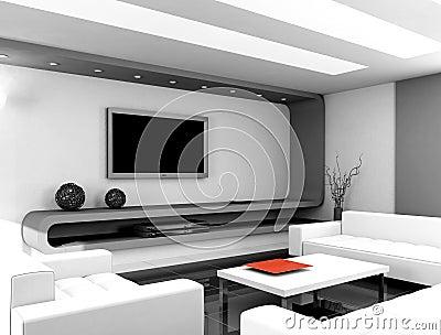 Modern Woonkamer Design : Woonkamer in wit design gehoor geven aan uw huis