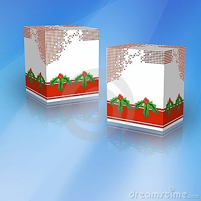 3D Generic Boxes for Christmas