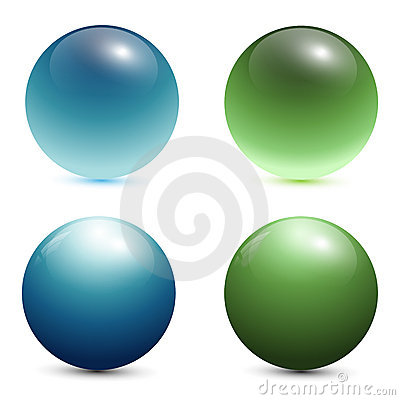 Free 3D Glass Spheres Stock Photos - 14807663