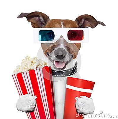 Free 3d Glasses Movie Popcorn Dog Royalty Free Stock Photo - 27391765