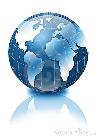 Free 3d Globe Stock Photography - 3317022