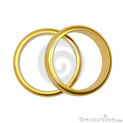 3d gold wedding ring