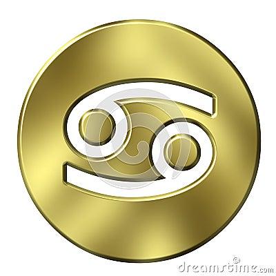 3D Golden Cancer