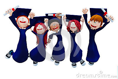 3D graduation group