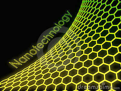 3D green fluorescent graphene structure
