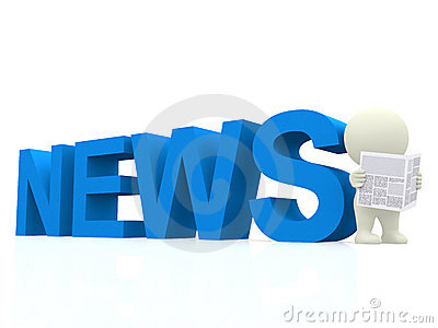 3D guy with news