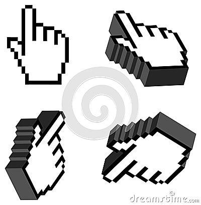 3D Hand Cursor.