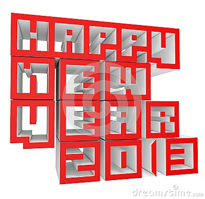3d Happy New Year 2013