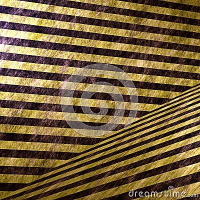 3D Hazard Stripe Interior