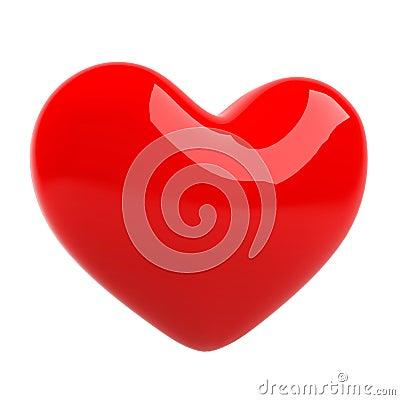 3d heart.