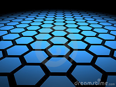 3D Hexagon Hex Hexagons Background