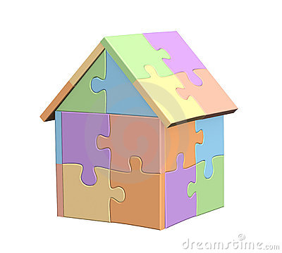 Free 3d House Royalty Free Stock Images - 6786189