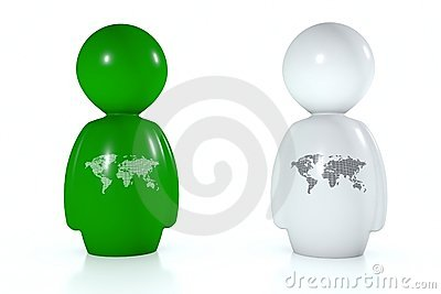 3d humans with world