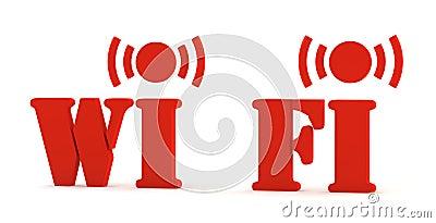 3d icon wifi