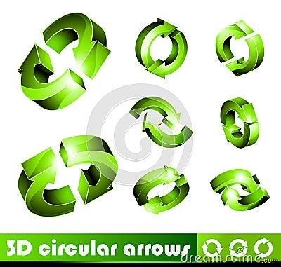 3D Icons: Arrows