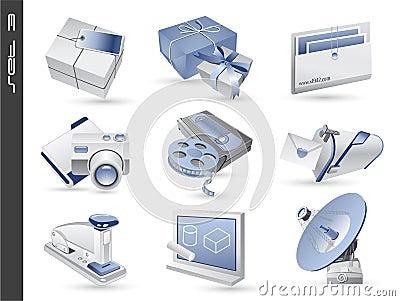 3d icons set 03