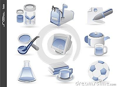 3d icons set 06
