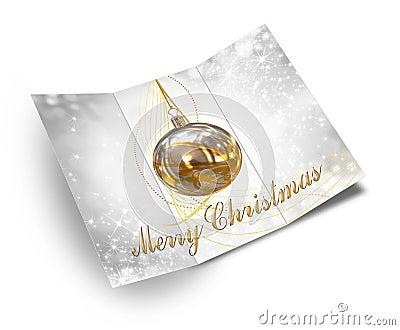 3D Illustration of Christmas brochure