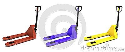 3d illustration of storage  equipment