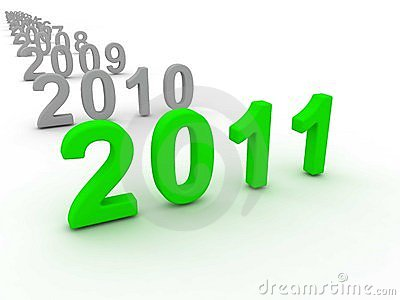3D Image Of 2011 (Green)