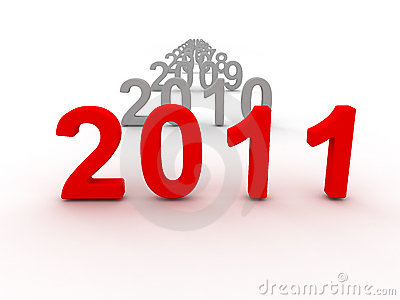 3D Image Of 2011 (Red)