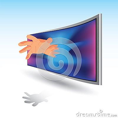 3D image, TV