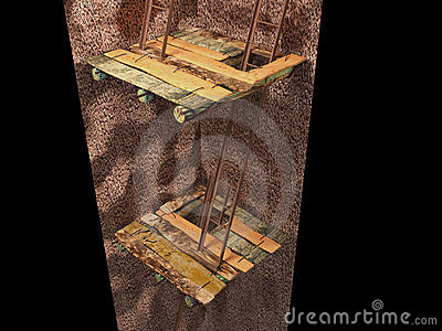 3d image of the underground mine