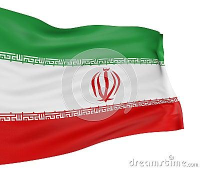 3D Iranian flag