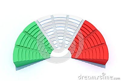 3d italian parliament