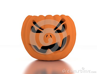 3d Jack O Lanterns, Halloween