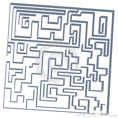 3D Labyrinth game