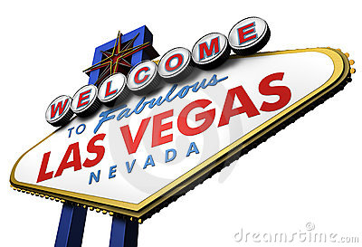 3d Las Vegas Sign, Nevada Royalty Free Stock Photos - Image: 5363838
