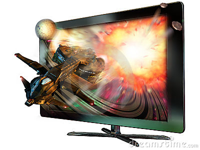 3D led television
