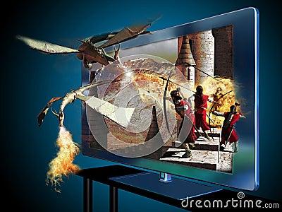 3D led television