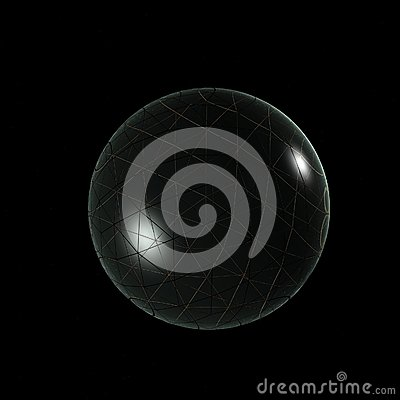 3D loga przedmiotów Szklana piłka