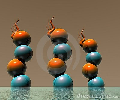 3D Logo Objects Design 0014
