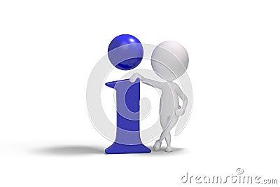 3d ludzka ikona info