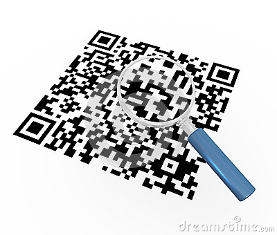 3d magnifier and qr code